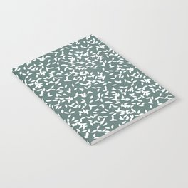 Tossed Rice Notebook