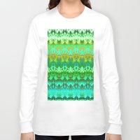 zen Long Sleeve T-shirts featuring Zen. by Assiyam