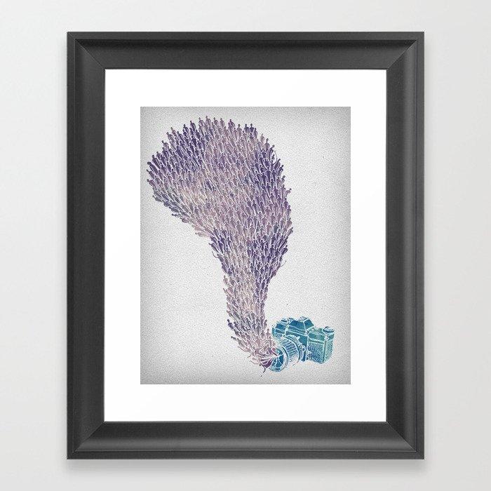 Stolen Souls Framed Art Print