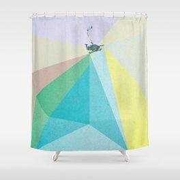 human edge #1 Shower Curtain
