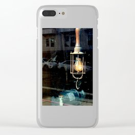 What Light Through Yonder Window... Clear iPhone Case