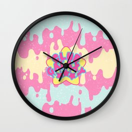 CLUB GALAXY LOGO Wall Clock