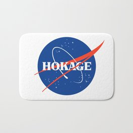 NASA HOKAGE LOGO Bath Mat