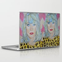 jared leto Laptop & iPad Skins featuring Jared Leto as RAYON by Jenn