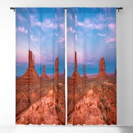 Westward Dreams - Sunset in Monument Valley Blackout Curtain