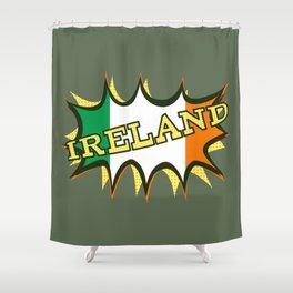 Ireland Patrick's day Shower Curtain