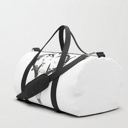Neverending love (bw) Duffle Bag