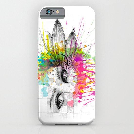 Beautiful Flower Eyes iPhone & iPod Case
