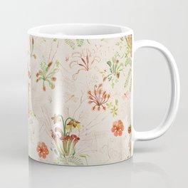 Carnivorous Floral Coffee Mug