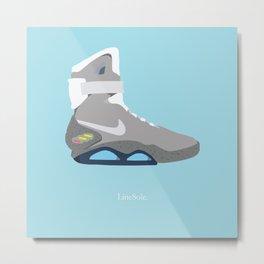 Nike Air Mag Metal Print