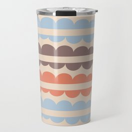 Mordidas Blue Retro Travel Mug