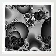 Dark Rose Art Print