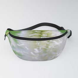 Ribwort Plantain flower blossoming Fanny Pack