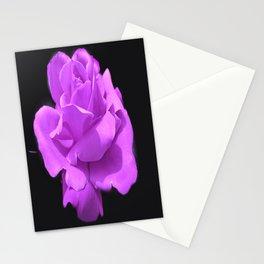 Majestic  Lavender Rose Stationery Cards
