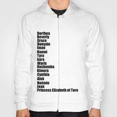 Black Fashion Hoody