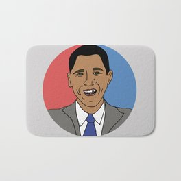 Our Obama Bath Mat