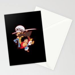 Law & StrawHat Stationery Cards