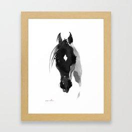 Horse (Star) Framed Art Print
