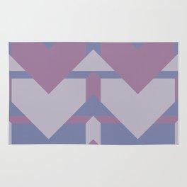 Violet Directions #society6 #violet #pattern Rug