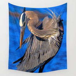 Great Blue Heron Wall Tapestry