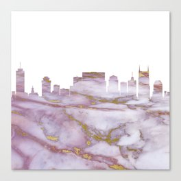 Nashville Tennesse Skyline Canvas Print