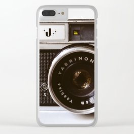 Camera II Clear iPhone Case