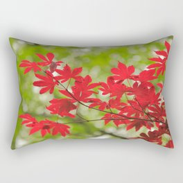 Acer leaves Rectangular Pillow