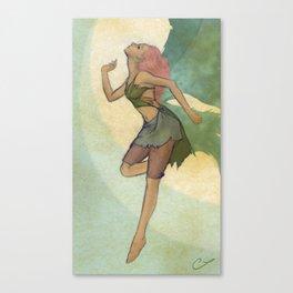 A Curious Fairy Canvas Print