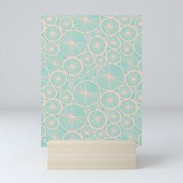Pastel Wheels #society6 #pattern Mini Art Print