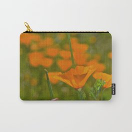 Tall Poppy Carry-All Pouch