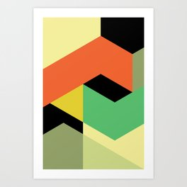 Minimal Direction n° 1 Art Print