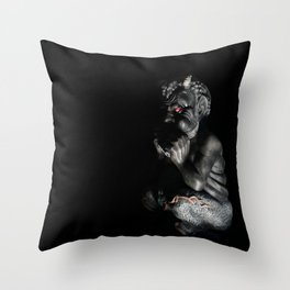 My Little Pan-y  Throw Pillow