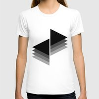 shadow T-shirts featuring Shadow by Shivani C