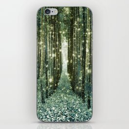 Magical Forest Old Money Green iPhone Skin
