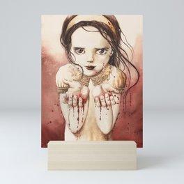 RED RIVER Mini Art Print