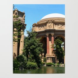 View Over The Lagoone To The Palace Of Fine Arts - San Francisco Poster