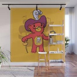 Captain Bear Hook Wall Mural