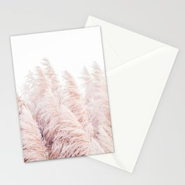 Pink Pampas Grass Stationery Cards