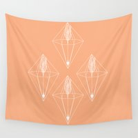 arrows Wall Tapestries featuring arrows by Anoukisch