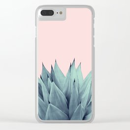 Agave Vibes #12 #tropical #decor #art #society6 Clear iPhone Case