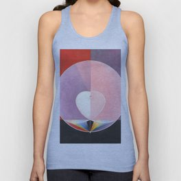 "Hilma af Klint ""The Dove, No. 02, Group IX-UW, No. 26"" Unisex Tank Top"