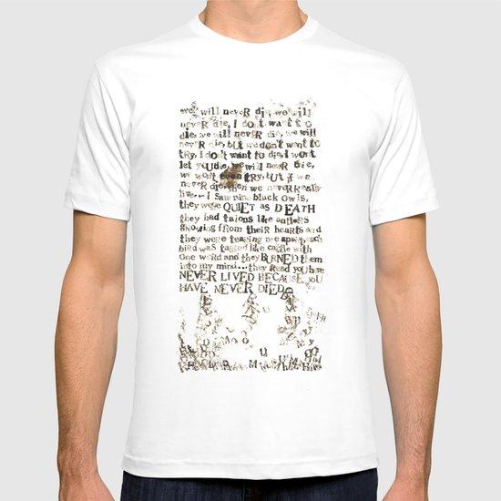 Listener Lyrics Poster T-shirt