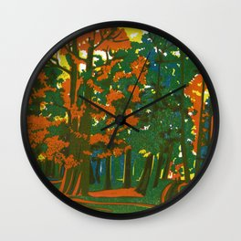 Bournemouth Gardens Wall Clock