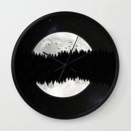 Forestmoon Wall Clock