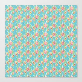 Island Tropical Floral Canvas Print