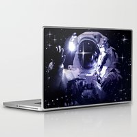 astronaut Laptop & iPad Skins featuring ASTRONAUT. by capricorn