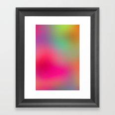 Color Study 01 Framed Art Print