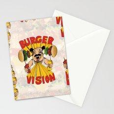 Burger Vision Stationery Cards