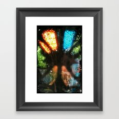 Let Me In.... Framed Art Print