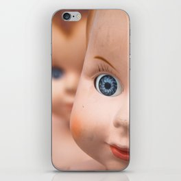 Baby Blue Eyes iPhone Skin